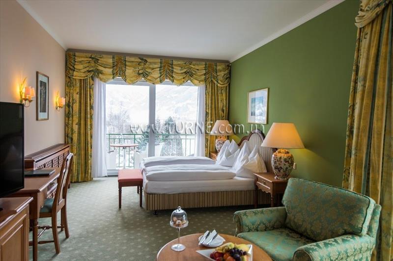 Фото Das Alpenhaus Hotel (ex. Grand Park Hotel) Австрия Бад Хофгастайн