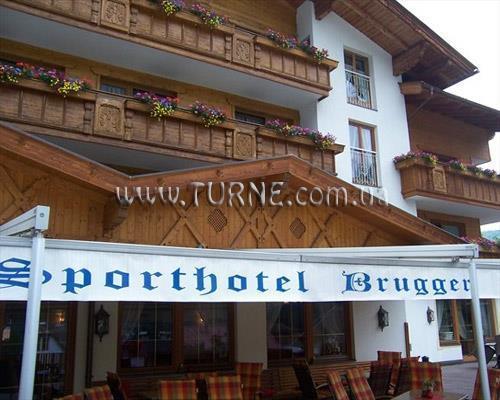 Отель Sporthotel Brugger Австрия Фельден