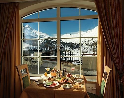 Отель Alpen Aussicht Австрия Обергургль