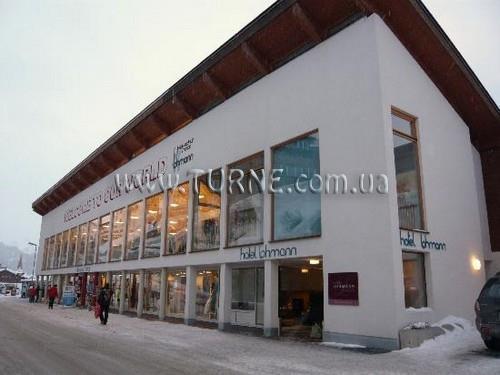 Отель Lohmann Австрия Обергургль