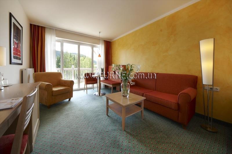 Отель Das Hotel Eden Superior Австрия Зеефельд