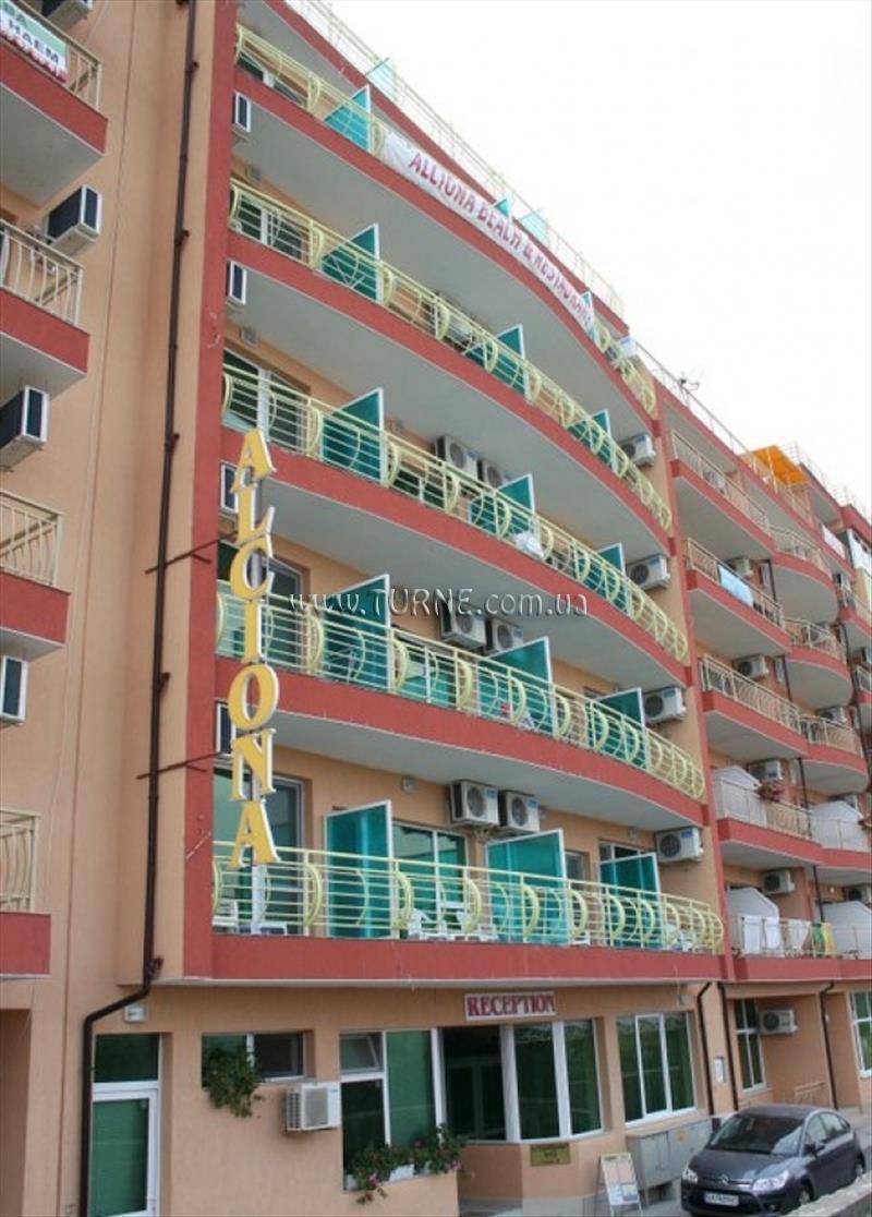 Отель Alciona Beach Поморие