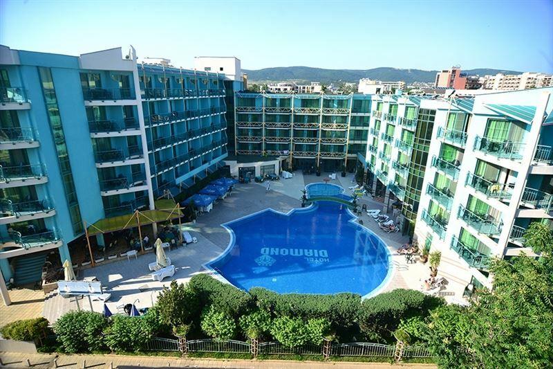Отель Diamant Sunny Beach Солнечный берег
