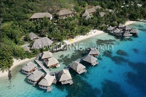 Отель Le Maitai Polynesia Bora Bora Французская Полинезия Бора Бора