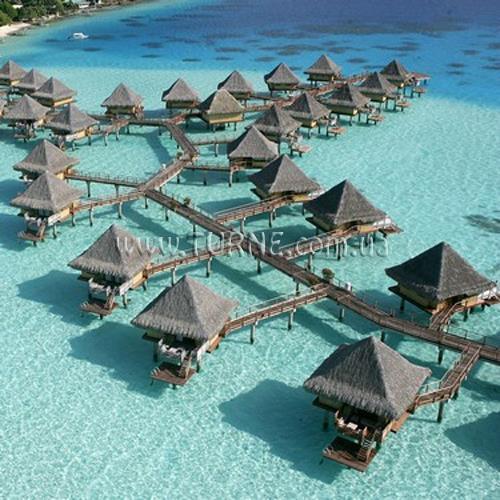 Отель InterContinental Bora Bora Le Moana Французская Полинезия Бора Бора