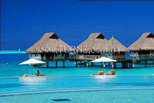 Отель Hilton Moorea Lagoon Французская Полинезия Муреа