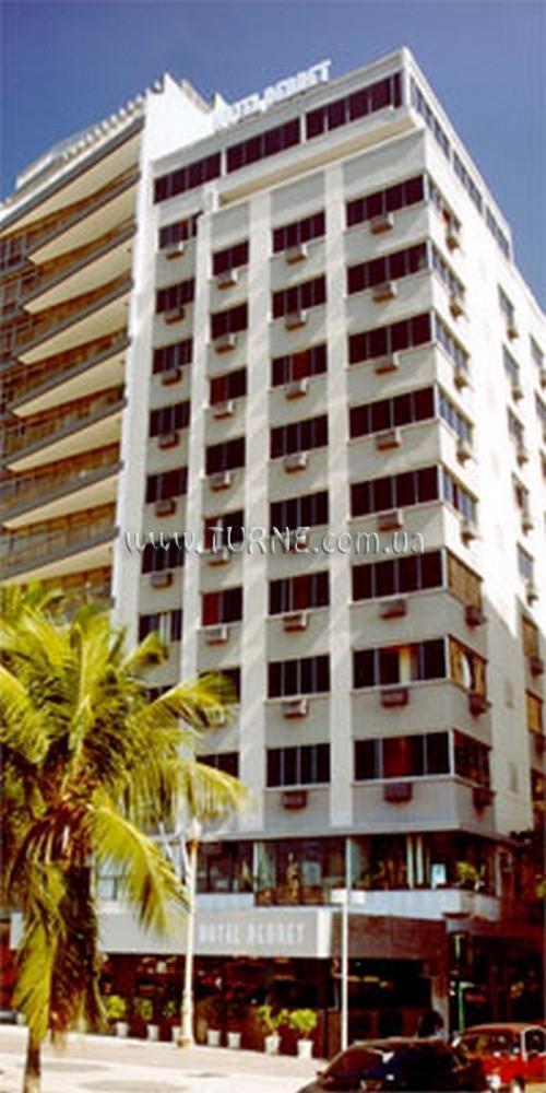 Отель Debret Рио-де-Жанейро