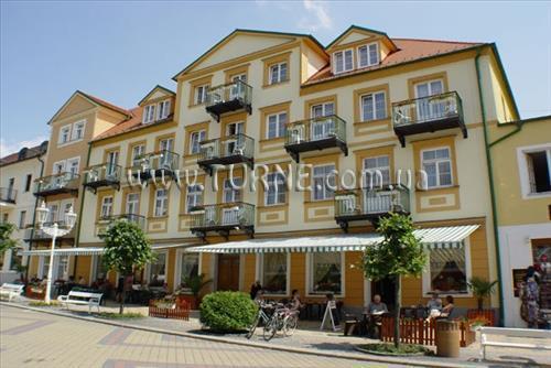 Отель Goethe Чехия Франтишковы Лазне