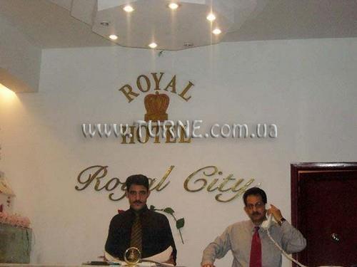 Отель Royal City Хургада