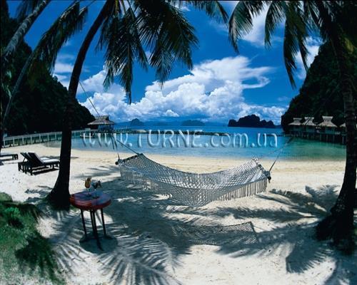 Отель El Nido Miniloc Island Resort Палаван