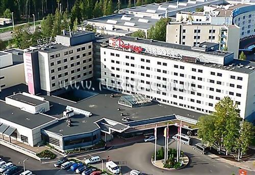 Отель Rantasipi Airport Helsinki-Vantaa Хельсинки