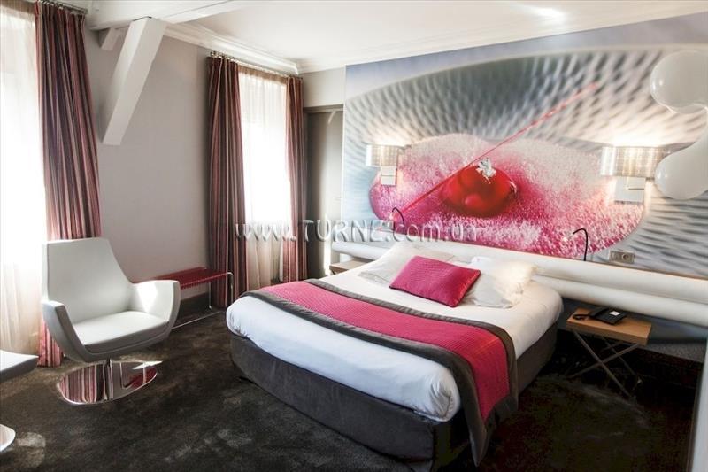 Отель Chapeau Rouge Дижон