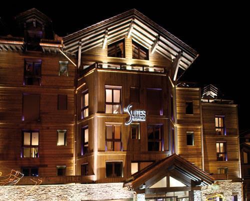 Отель Hotel Les Suites De La Potiniere Куршевель