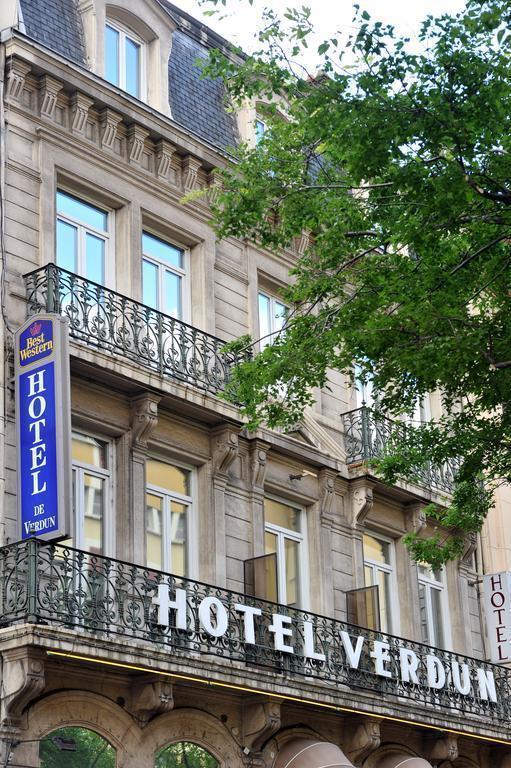 Отель Best Western Hotel De Verdun Франция Лион