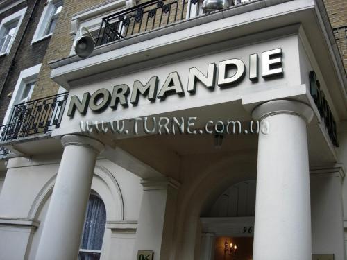 Отель Normandie Франция Ницца
