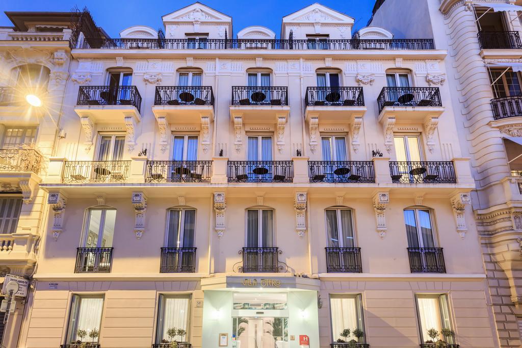 Hotel Villa Otero Франция Ницца