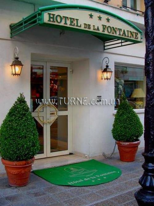 De La Fontaine Франция Ницца