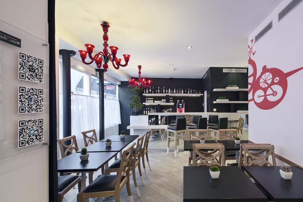 Отель Best Western Premier Faubourg 88 Франция Париж