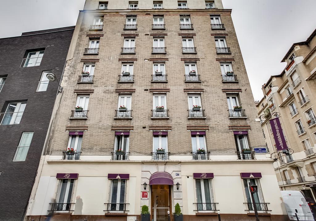 Отель De Bellevue Gare Du Nord Франция Париж
