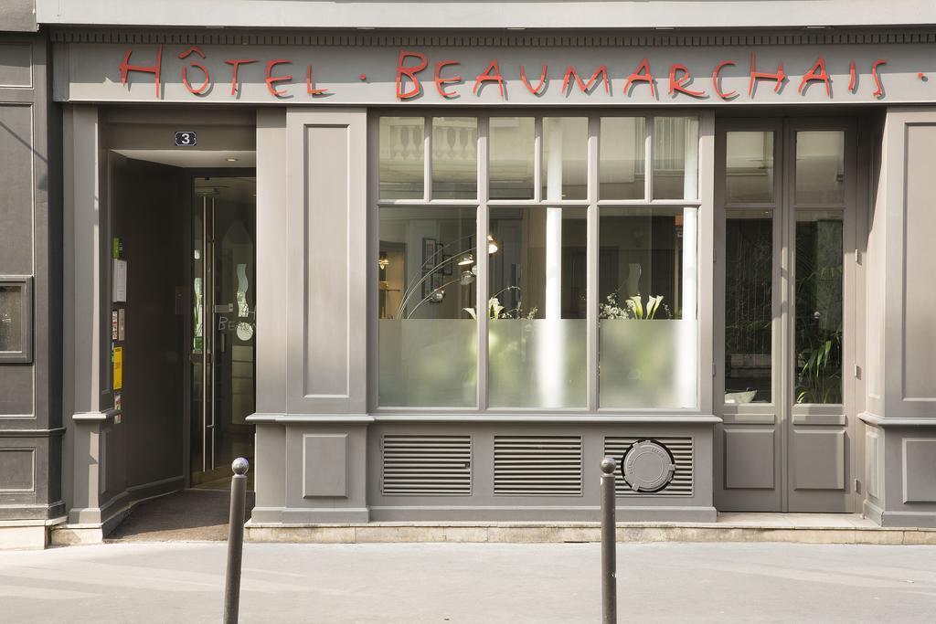 Фото Beaumarchais Франция Париж