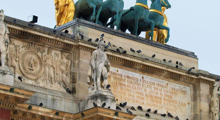Best Western Louvre Piemont Франция Париж