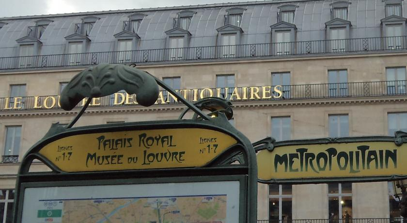 Отель Best Western Louvre Piemont Франция Париж