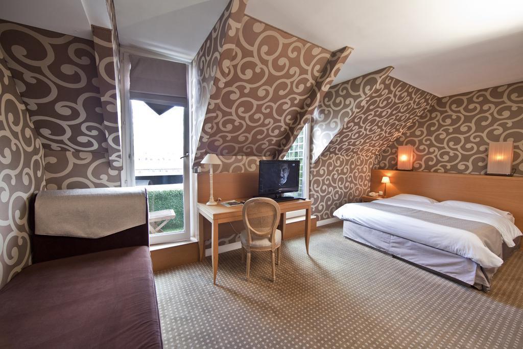 Отель Best Western Louvre Piemont Париж