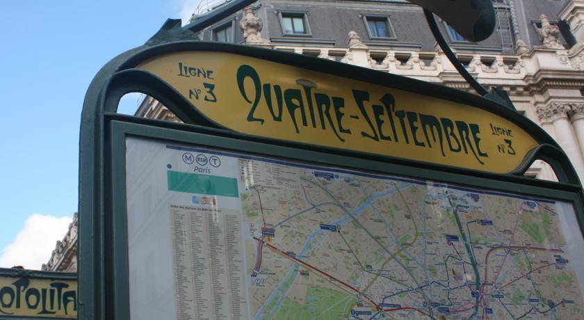 Отель Ascot Opera Франция Париж