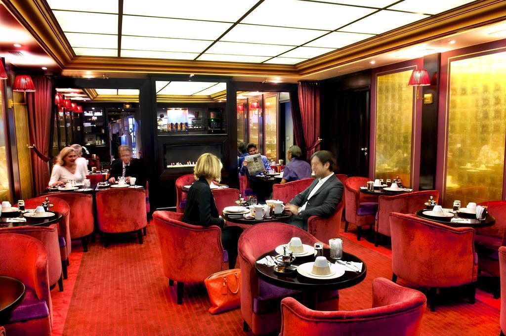 Отель Courcelles Etoile Париж