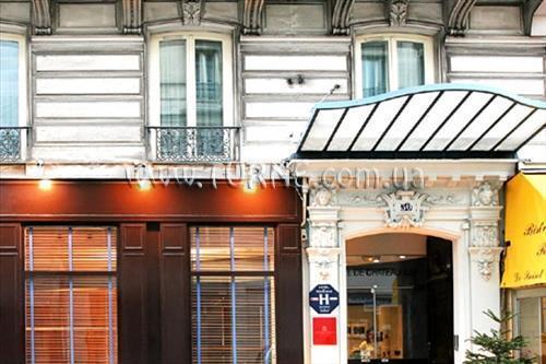 Отель De Chateaudun Франция Париж