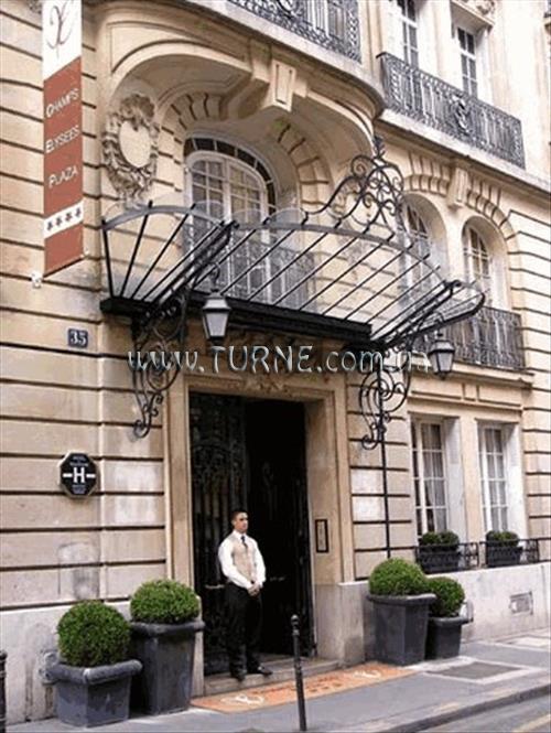 Отель Champs Elysees Plaza Франция Париж