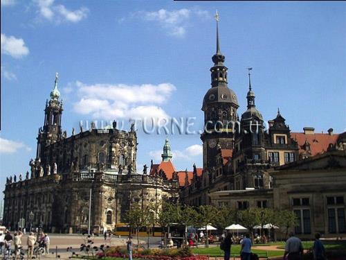 Dresden Hauptbahnhof Германия Дрезден