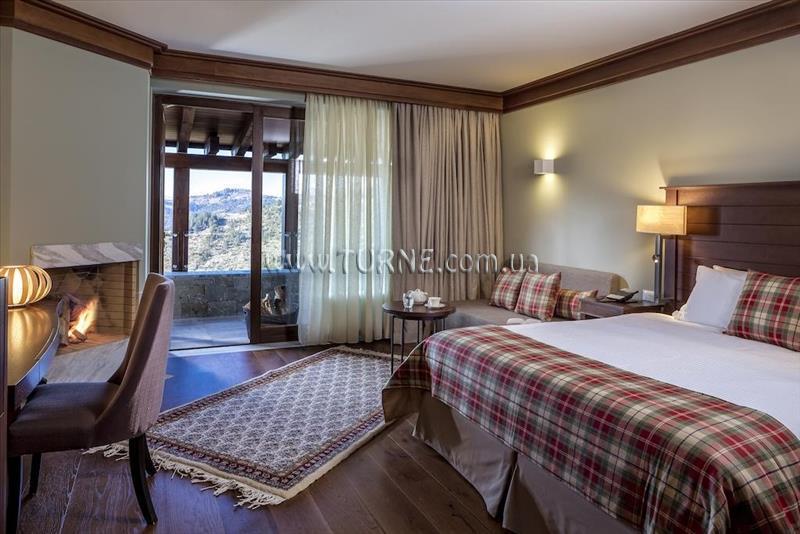 Отель Grand Forest Metsovo Hotel Афины