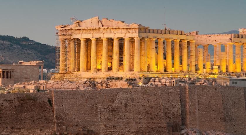 Отель Divani Acropolis Греция Афины