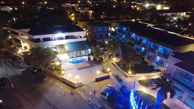 Отель Dionysos Inn Hotel Греция Кассандра (Халкидики)
