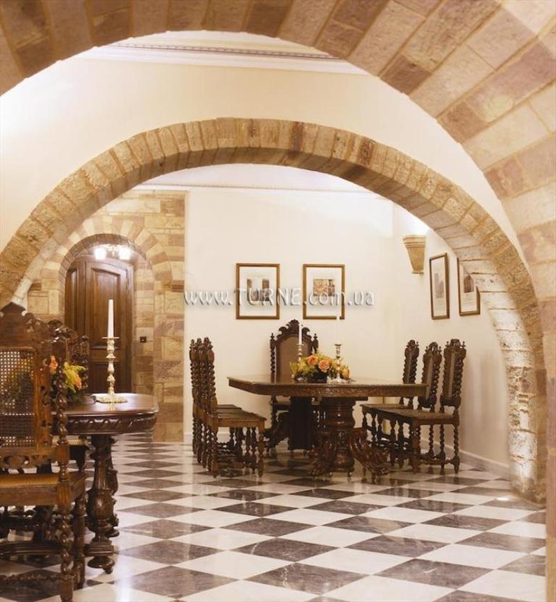 Отель Argentikon Luxury Suites о. Хиос