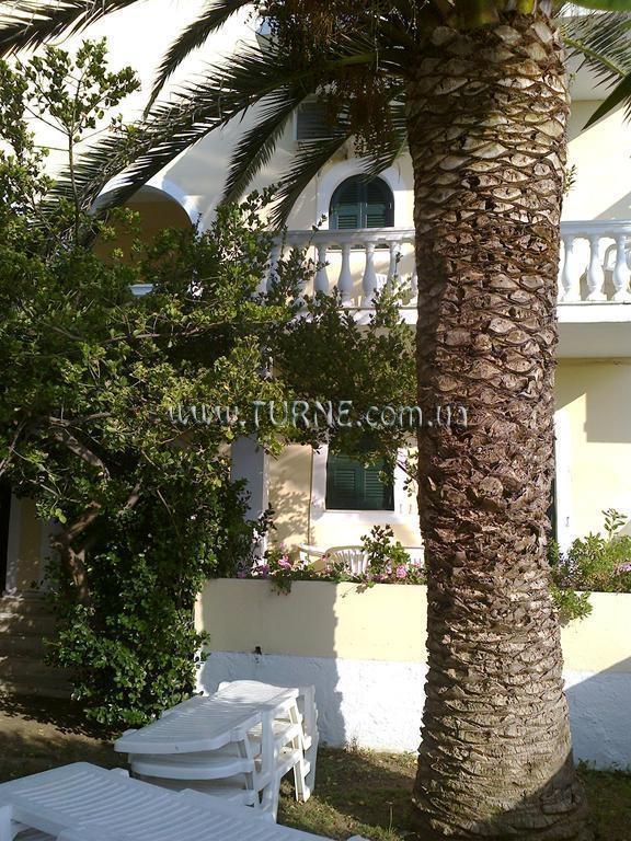 Отель Beach Front Salvanos Apartments Греция о. Корфу