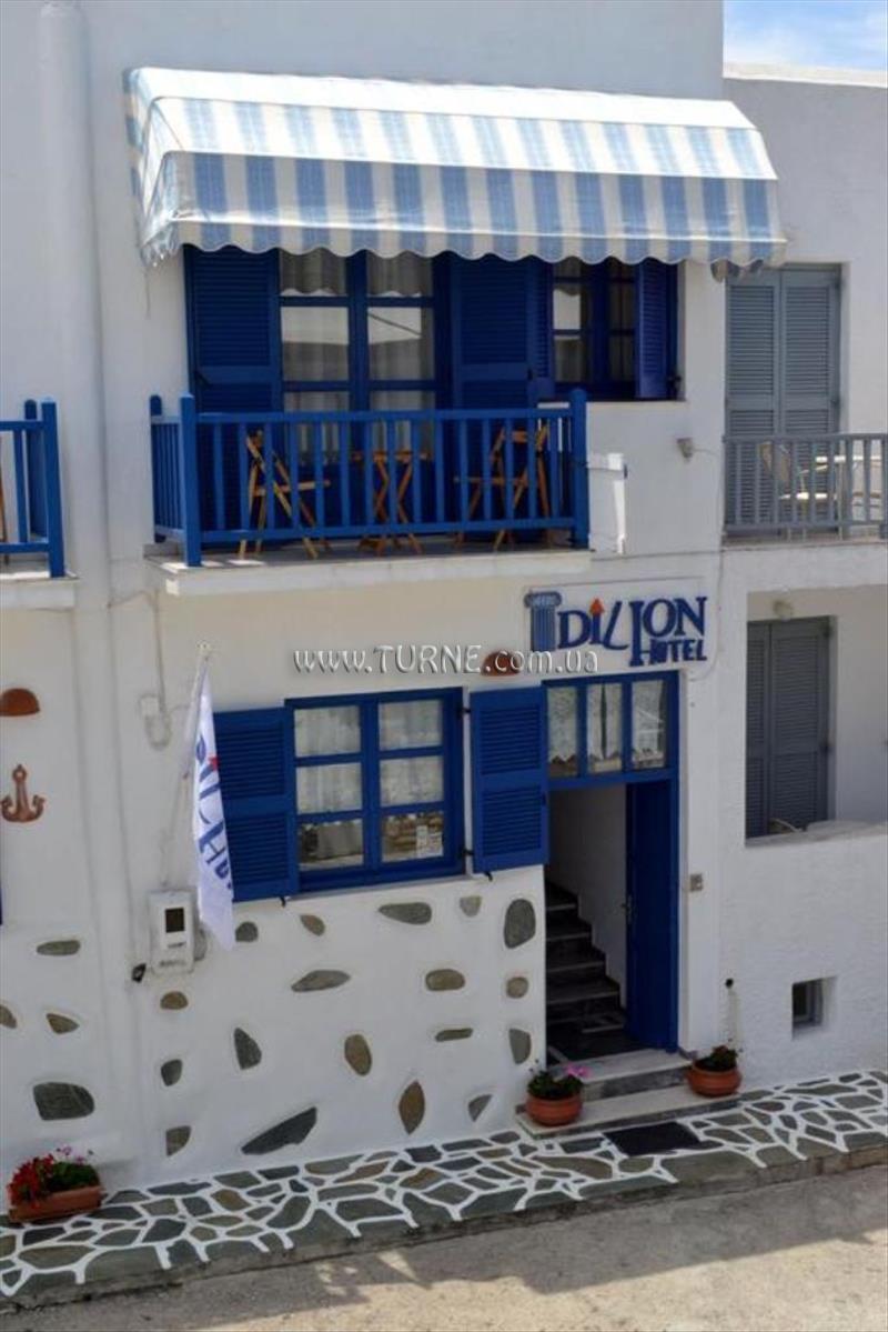 Dilion Hotel о. Парос