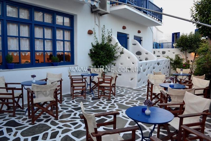 Отель Dilion Hotel о. Парос