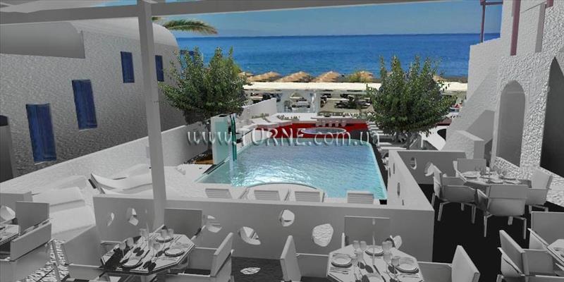 Отель Roussos Beach Hotel Греция о. Санторини