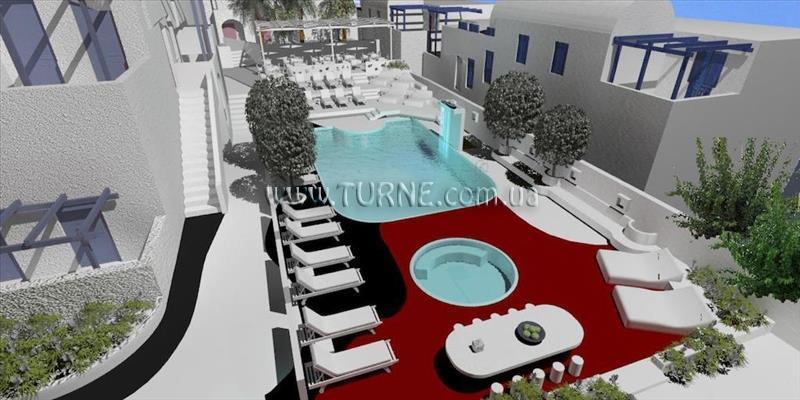Отель Roussos Beach Hotel о. Санторини