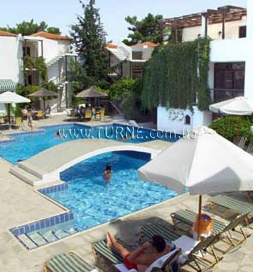 Отель Esperides Sofras Hotel & Bungalows о. Тасос