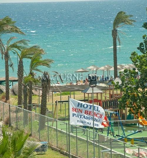 Отель Sun Beach Hotel Пиерия