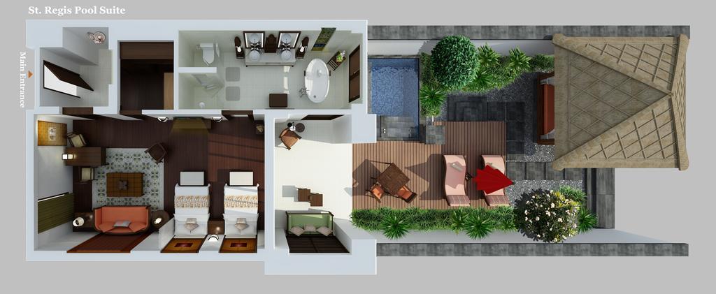 Фото The St. Regis Bali Resort остров Бали