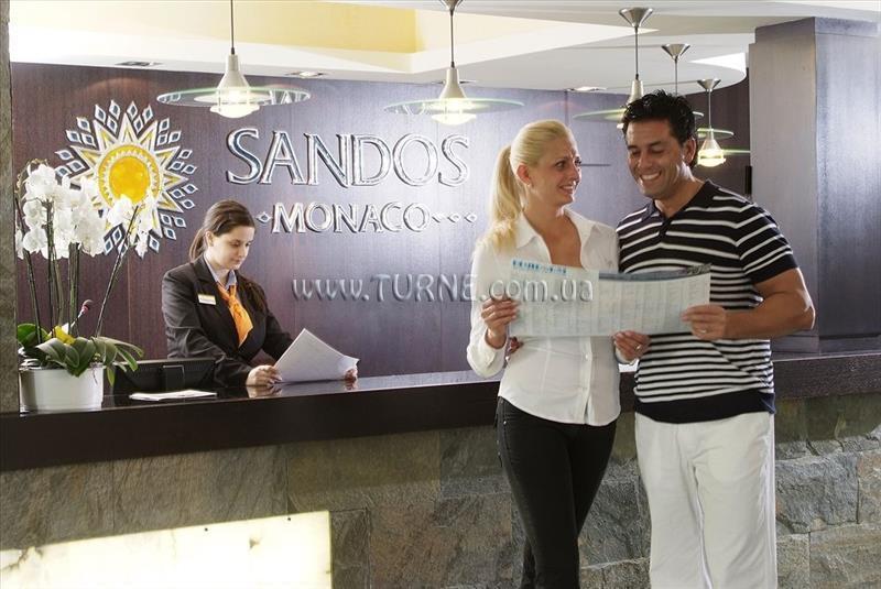 Отель Sandos Monaco Испания Бенидорм
