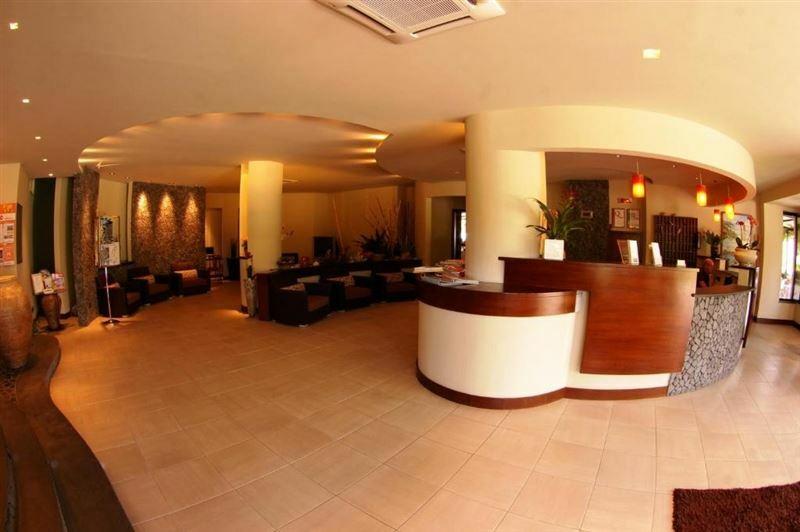 Отель Hotel Residence Sciaron Италия Капо Ватикано