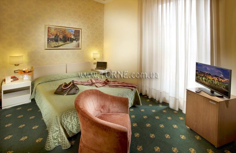 Отель Grand Hotel Plaza Монтекатини-Терме
