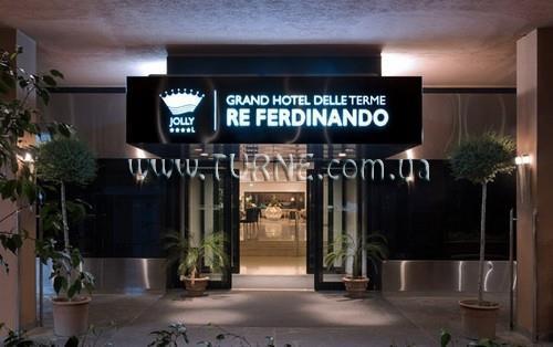 Отель Grand Hotel Delle Terme re Ferdinando Италия о. Искья