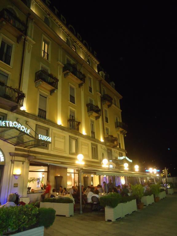 Отель Hotel Metropole & Suisse Италия оз. Комо