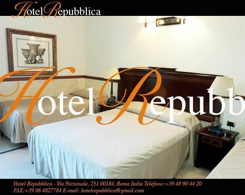 Отель Repubblica Италия Рим